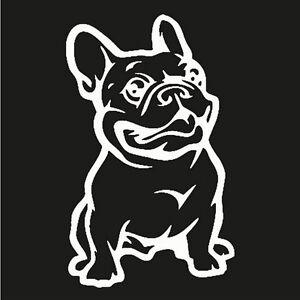 3D-White-Adhesive-Decal-Custom-French-Bulldog-Dog-Cars-Stickers-Vinyl-Sticker