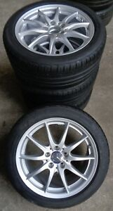4-Mercedes-Benz-Sommerraeder-B-Klasse-W246-A-W176-CLA-X117-225-45-R17-91V-RDK-NEU