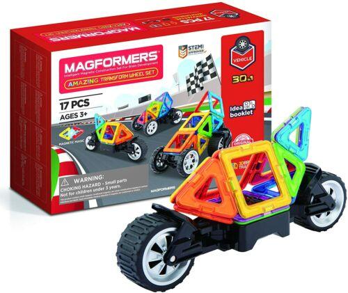 Magformers-Incroyable Transformer roue magnétique Building Set Multi-couleur