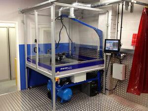 Cnc Plasma Cutter 4x4 Hypertherm Powermax 45 Xp Dthc Water