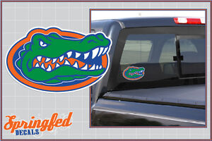 Florida Gators GATOR HEAD LOGO Vinyl Decal UF Sticker for Almost Anything!