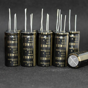 1pcs 50V 1000UF  Nichicon Electrolytic Capacitor For Audio Hi-Fi Filter