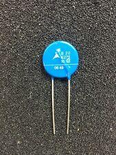 2x Varistor siov EPCOS S20K275 275V 20mm diameter-Abridged Pins