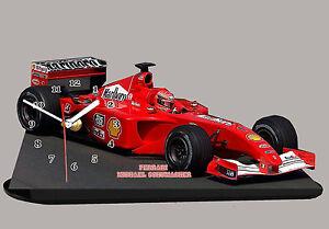 Modell Autos Formel Eins F1 Michael Schumacher Ferrari Mit Uhr Ebay