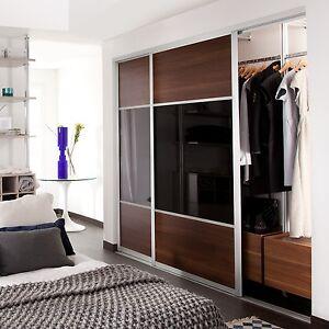 single closet doors. Exellent Doors Image Is Loading SlidingWardrobeDoorsEclipse3DoorH2260mmW2592mm For Single Closet Doors