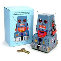 Tin Toy Robot R1 Tank Wind Up Retro Vintage Style Zoomer Retro Space Age