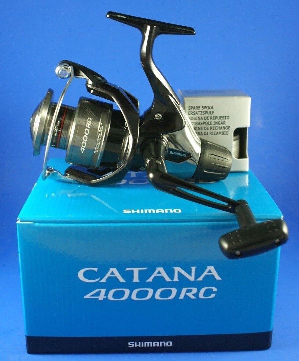 Shimano Catana 4000 RC // // CAT4000RC // RC POSTERIORE trascinare pesca con mulinello 9a0244