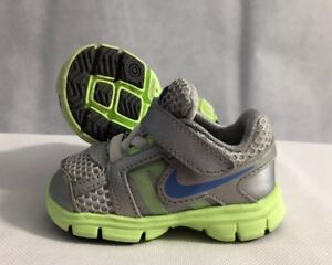 Schoenen Grijs Ebay Blauw Neon en Geel 4c Baby Peuter Maat Nike 71O6x