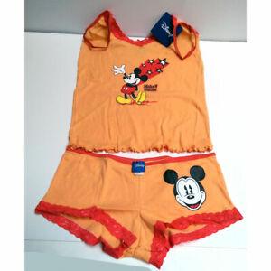 Disney Mickey Mouse 2 Piece Cami /& Panty Set