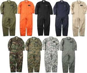 Details about Military Uniform Flight Suit Air Force Style Fighter Coveralls  Jumpsuit + Patch 4ae00b184fa