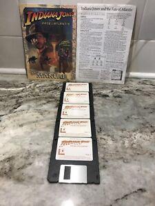 1992-Indiana-Jones-amp-the-Fate-of-Atlantis-3-5-034-Disk-Computer-Game-MAC-Macintosh