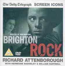 BRIGHTON ROCK + THE GO-BETWEEN: 2 DVDS: RICHARD ATTENBOROUGH, ALAN BATES