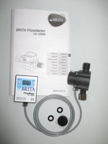 298900 NEU Lieferung mit Anleitung BRITA FlowMeter 10-100A Art
