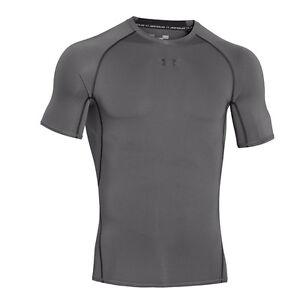 Under-Armour-Heatgear-Camiseta-manga-corta-de-compresion-Grafito-1257468-040