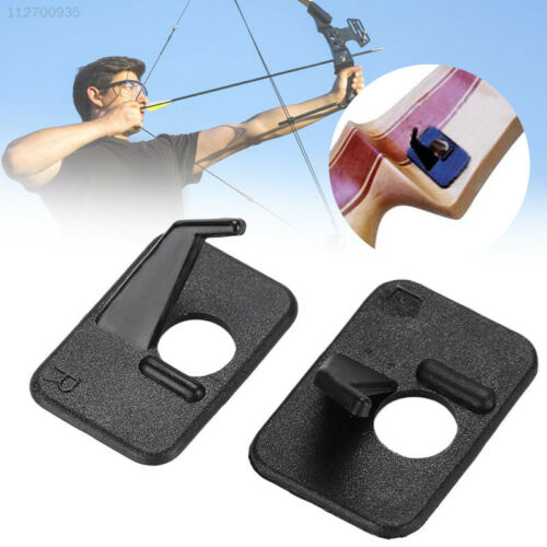 E5FD Black Arrow Rest Outdoor Sports Training The Bow Self Pasting