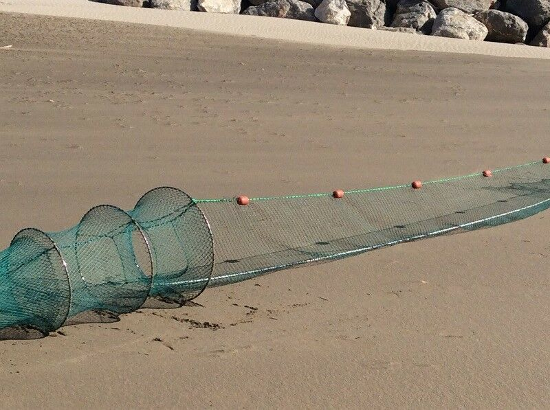 15 10mm double hoop nets mesh 8,00m length