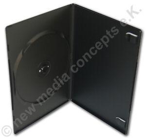 DVD-Slimline-cajas-con-DVD-y-soporte-de-FOLLETO-ruckenfolie-10-piezas