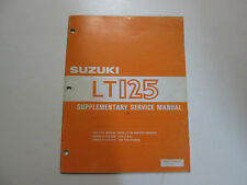 suzuki lt125 lt 125 supplementary service manual oem ebay rh ebay com 1983 suzuki lt 125 service manual pdf 1985 Suzuki LT125 Quadrunner