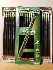 Ticonderoga Black Premium Wood Sharpened Hb2 Pencils 13915 Lot Of 30