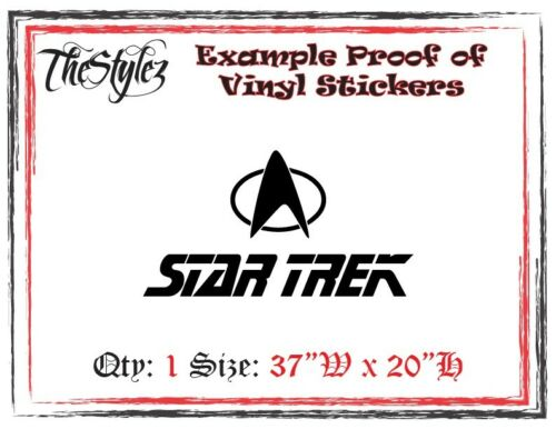 Star Trek Wall Vinyl Sticker