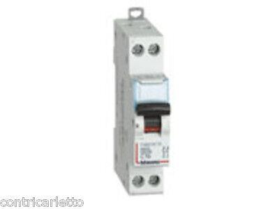 BTICINO BTDIN-RS INTERRUTTORE MAGNETOTERMICO C16 1P+N 1 MODULO 4500A FC881C16