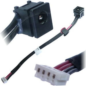 toshiba satellite pro l350 l300 c50 a 1k dc jack power socket image is loading toshiba satellite pro l350 l300 c50 a 1k
