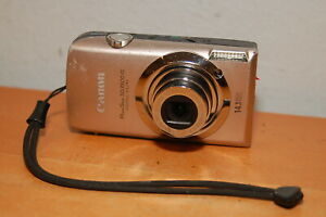 Canon-PowerShot-Digital-ELPH-SD3500-IS-IXUS-210-14-1MP-Digital-Camera-for-Parts