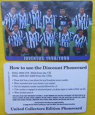 1999 phone cards rare $ 2 juventus juve schede telefoniche 1999 telefonkarten gq