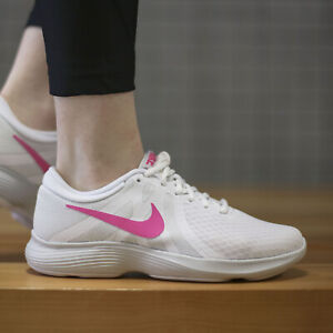best website outlet fashion style Details zu Nike Revolution 4 EU Sneaker - AJ3491101 Damen -  Laufschuhe-Weiss / Pink