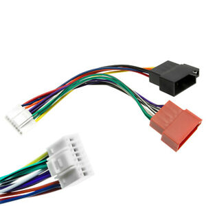 DIN-ISO-Adapter-Kabel-Stecker-16pin-Kabel-Baum-Auto-Radio-fuer-Alpine-CDM-TDM
