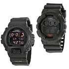 Casio G-Shock Black Dial Black Resin Strap Digital Mens Watch - Choose color