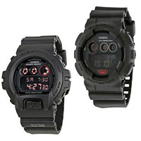 Casio G-Shock Black Dial Resin Strap Digital Mens Watch