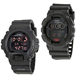 Casio G-Shock Black Dial Resin Strap Digital Mens Watch