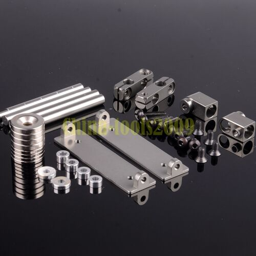 Aluminum RC 1//10 Drift Car Shell Strong Magnet Stealth Body Post DIY Gray 188837