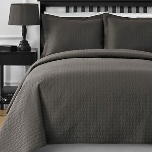 Thermal Pressing Modern Quilted 3 Piece Queen Amp King