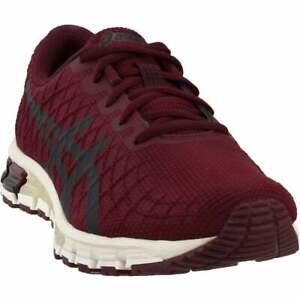 ASICS-Gel-Quantum-180-4-Casual-Running-Shoes-Burgundy-Mens