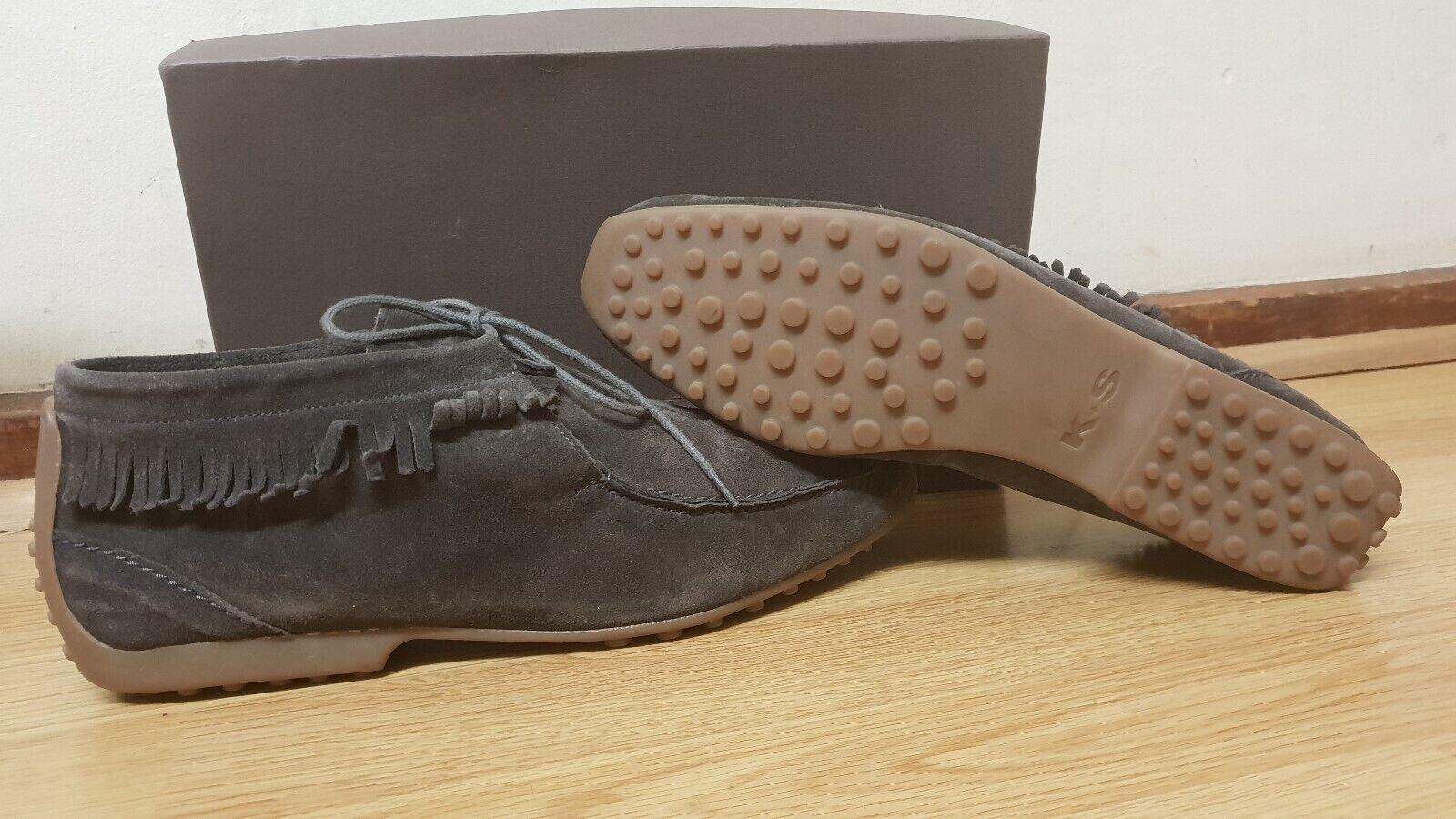 KENNEL & SCHMENGER Bottes Chaussures en daim Bottes Coupe Slim Taille UK 6 EUR 39
