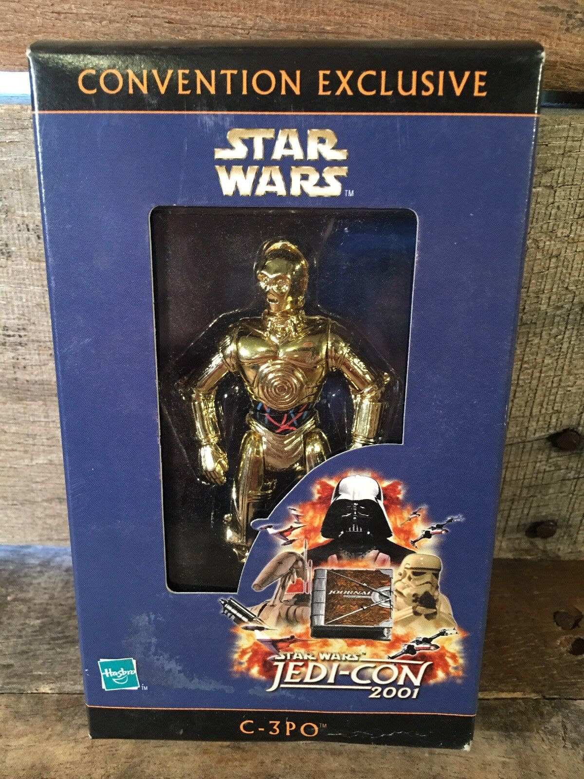 Star Wars C-3PO Jedi-Con 2001 Toy Action Figure Hasbro NEW Convention Exclusive