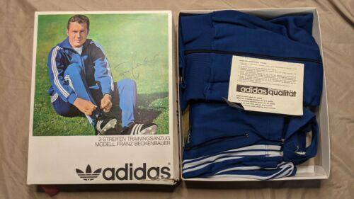 Vintage 1970's Adidas Franz Beckenbauer Tracksuit