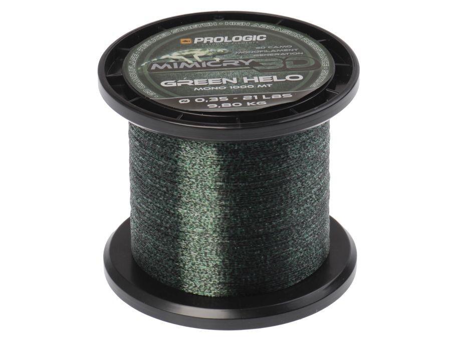 NEW 2018  Prologic Mimicry Green Helo   1000m   0,28-0,35mm   Monofili da Pesca