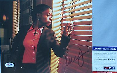 Entertainment Memorabilia Rachel Brooks!! Erica Tazel Signed Justified 8x10 Photo #1 Psa/dna Autographs-original