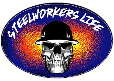 steelologist hard hat sticker CSW-11