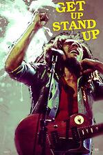 Bob Marley Portrait POSTER Get Up Stand Up New Licensed Art 40x50cm