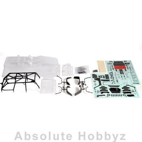 Axial 2012 Jeep Wrangler Rubicon Unlimited Body Set - AXI04035