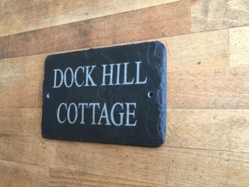 Hand Crafted Slate House Sign Made by master craftsmen 1st 4 Signs
