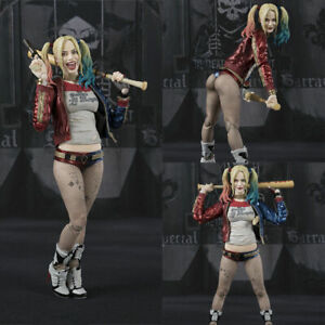 6-039-039-S-H-Figuarts-Suicide-Squad-Harley-Quinn-Figure-SHF-Collection-Toy-New-in-Box