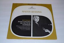 Walter Gieseking~Beethoven: Piano Concerto No. 5 In E Flat~Seraphim~FAST SHIP