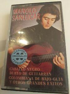 Jazz☆MANOLO SANLUCAR  (caballo negro... )CINTA TAPE CASSETTE  SPAIN
