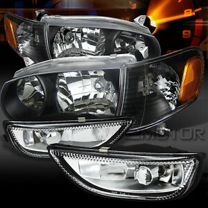 01 02 toyota corolla black headlights corner signal lamps for 2001 corolla window motor replacement