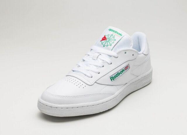 Adaptabilidad galón Perfecto  Reebok Club C 85 Vintage Chalk Green Mens Retro Casual Shoes SNEAKERS  V67899 9 for sale online | eBay
